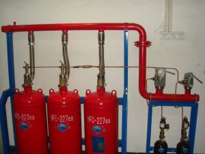 (FM 200) Fire Suppression System