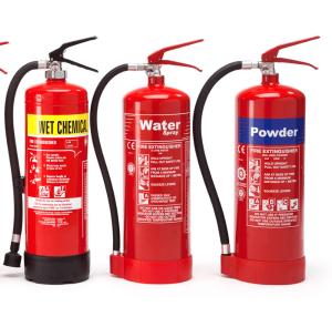 NAFFCO fire extinguishers