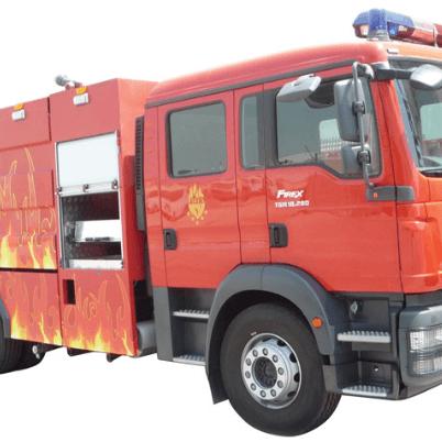 Multipurpose fire fighting vehicle