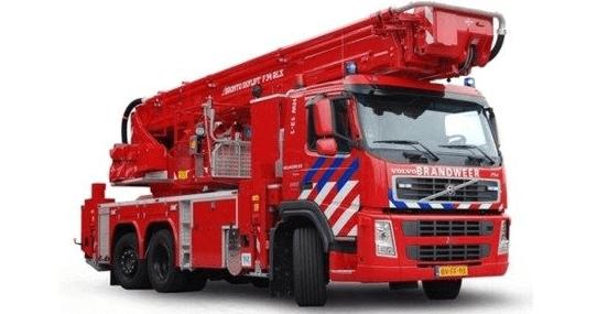 industrial firefighting vehicle
