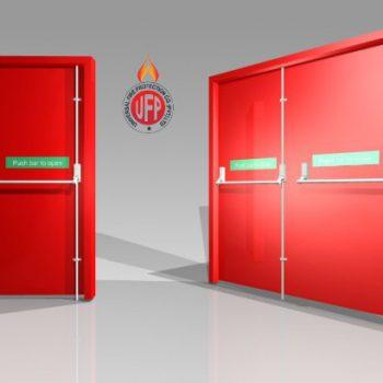 NAFFCO fire door