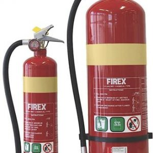 Firex wet chemical fire extinguisher